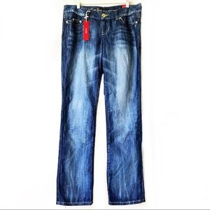 NWT-Guess Pismo Straight Distressed 34 Denim Jeans